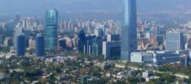 Santiago del Cile, ladro legato a un palo