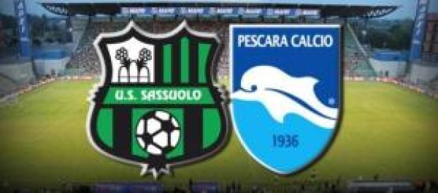 Sassuolo-Pescara il 2/12 ore 18:00