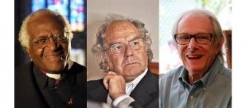 D. Tutu y P. Esquivel, Nobel de la Paz y Ken Loach