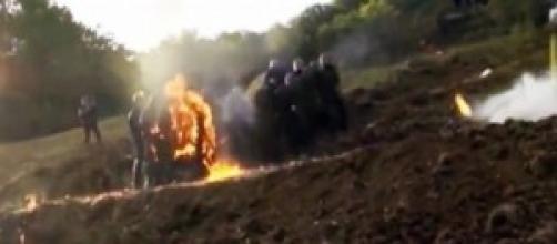 Gendarmes en feu à Sivens. Bourbier Politique