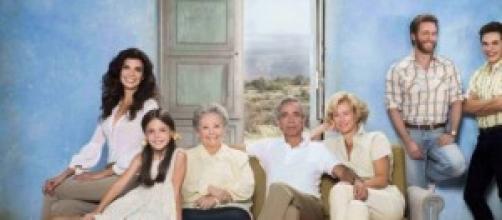 La familia Alcantará al completo