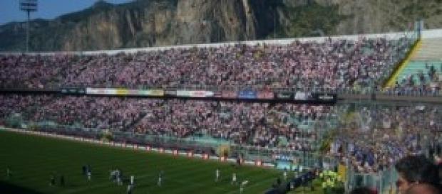 Lo stadio Renzo Barbera di Palermo
