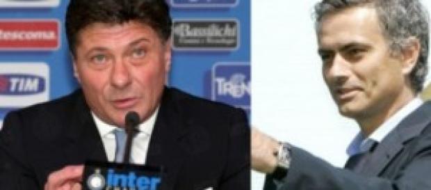 Walter Mazzarri e Josè Mourinho