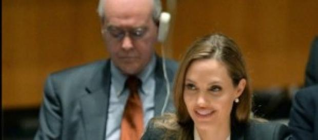 Angelina Jolie podría ingresar a la política.