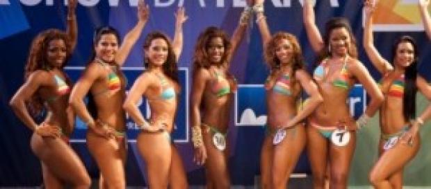 As semifinalistas do concurso Rainha Carnaval 2015
