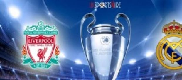 Liverpool-Real Madrid de Champions.