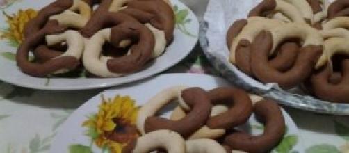 Ciambelline light panna e cacao.