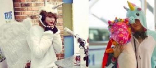 Taylor, vestida como su colega