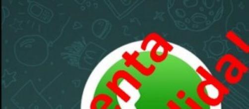 Whatsapp puede eliminarte la cuenta