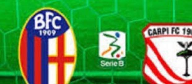 Bologna-Carpi, Serie B, 13^giornata