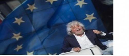 Il leader del M5S Beppe Grillo