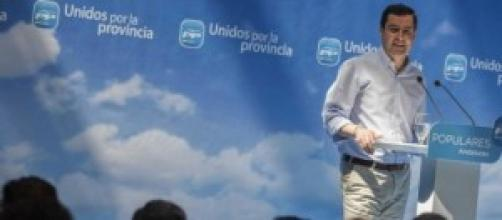 Juanma Moreno, presidente del PP en Andalucía.