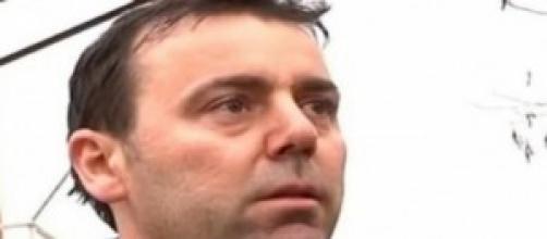 Michele Buoniconti è violento davanti ai figli