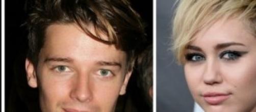 Miley Cyrus y Patrick Schwarzenegger de novios.