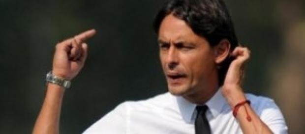 Filippo Inzaghi allenatore del Milan