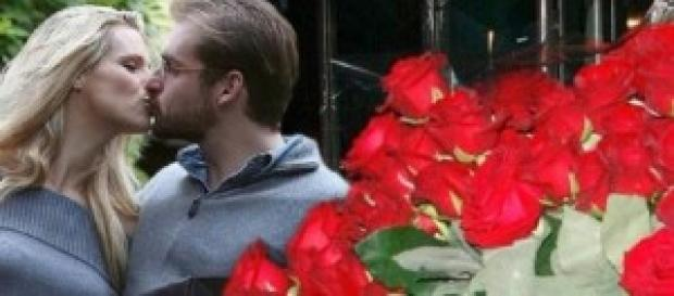 Gossip news: 300 rose per Michelle Hunziker.