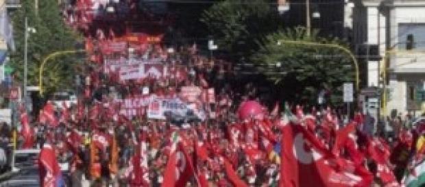 Il Pubblico Impiego sciopera, 50mila in piazza