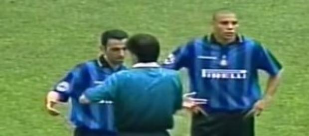 Juve-Inter 1997/98: Ronaldo, Iuliano, Ceccarini