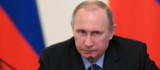 Una foto del presidente russo Vladimir Putin.