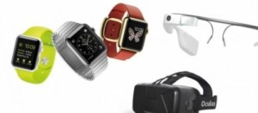 Apple Watch, Google Glass y Oculus rift dk2.