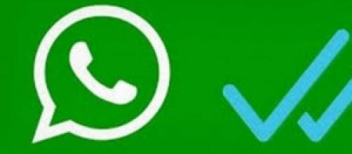Los checks azules del Whatsapp
