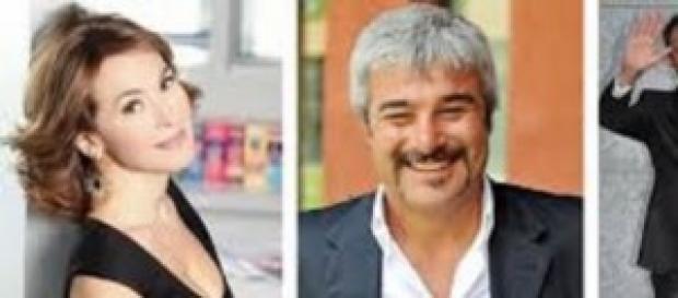 Barbara D'Urso e Pino Insegno