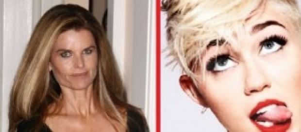 La difícil relación de Miley con su suegra.