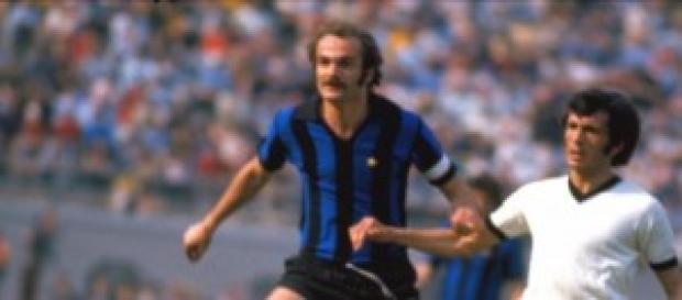 Sandro Mazzola negli anni 70'