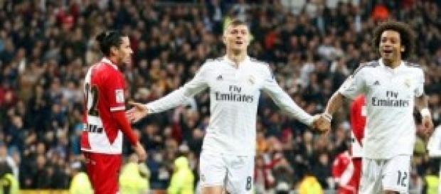 Kroos, el mejor de la noche. Foto: Real Madrid