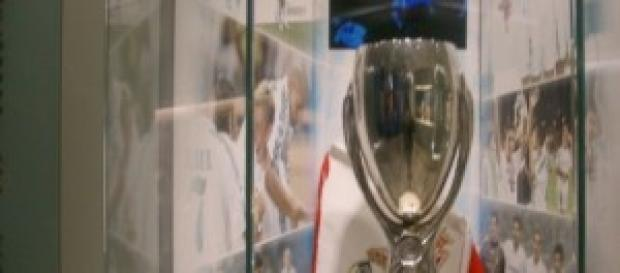 Museo del Real Madrid. La supercopa europea