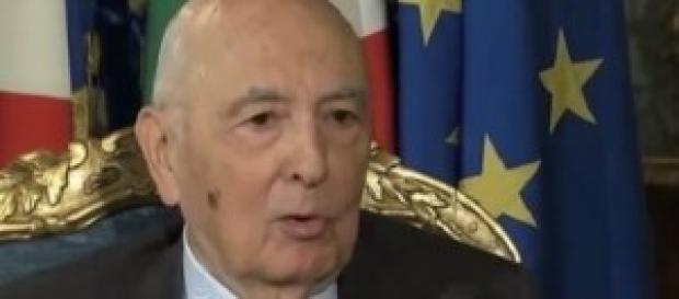 Presidente Napolitano addio nel 2015
