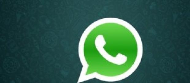 WhatsApp, double check azul.