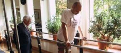 Darek Fidyka vuelve a caminar