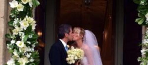 Matrimonio Alessia Marcuzzi: la foto della sposa