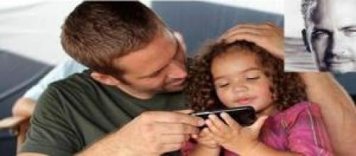 Paul Walker y la hija de Vin Diesel