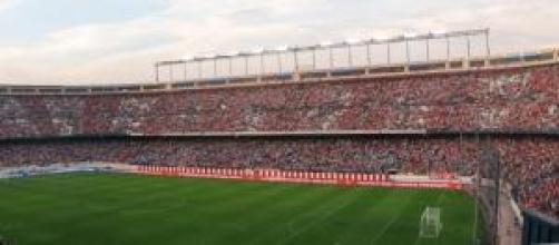 Un estadio de fútbol sin violentos
