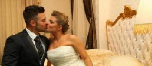 Uomini e donne: Eugenio e Francesca si sposano.