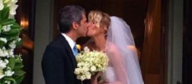 Alessia Marcuzzi e Paolo sposi 1 dicembre 2014