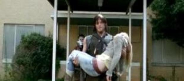 Beth morta in The Walking Dead