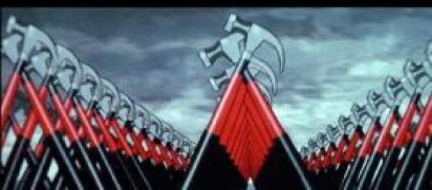 Las animaciones de la película The Wall