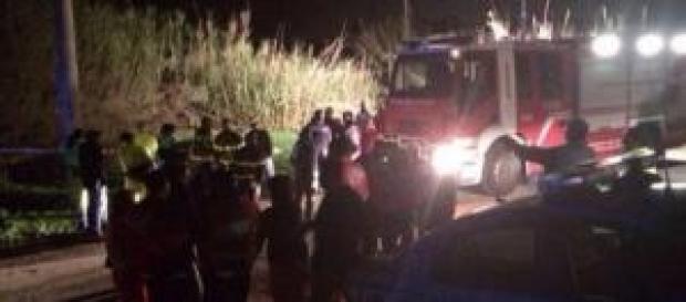Luogo in cui è stato ritrovato il corpo di Loris.