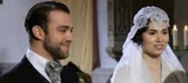 Maria sposa Fernando Mesia