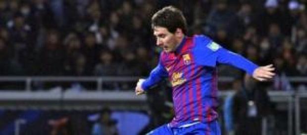 Messi hizo un buen partido pese a no ver puerta