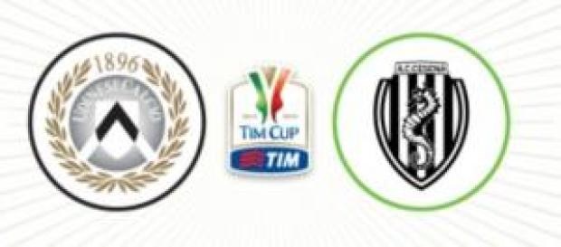 TIM Cup, Udinese-Cesena il 3/12 alle 21:00