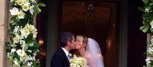 Alessia Marcuzzi, le foto del matrimonio