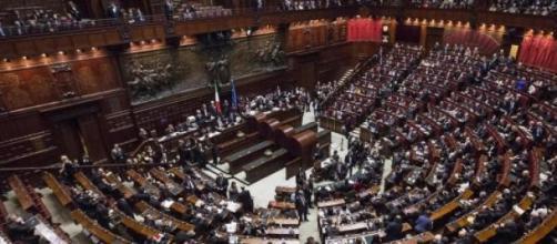 Camera dei Deputati nel caos