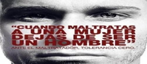 Cartel en defensa de la mujer maltratada