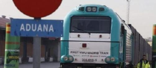 El tren comercial Yiwu-Madrid