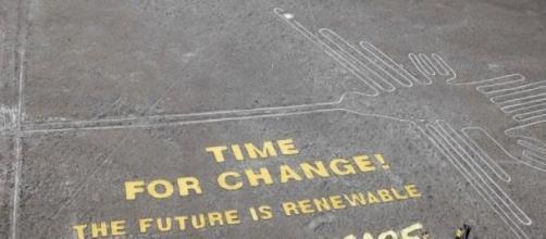 Greenpeace irrumpió en las Líneas de Nazca