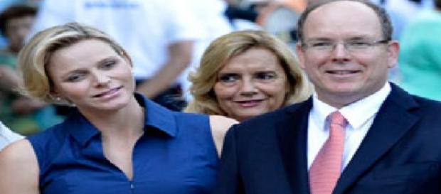 Charlène y Alberto padres de mellizos